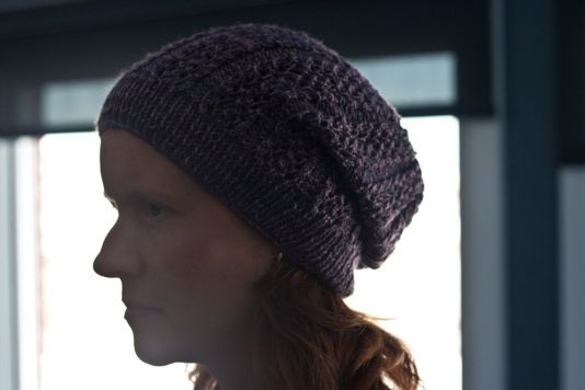 christine's purple hat 2