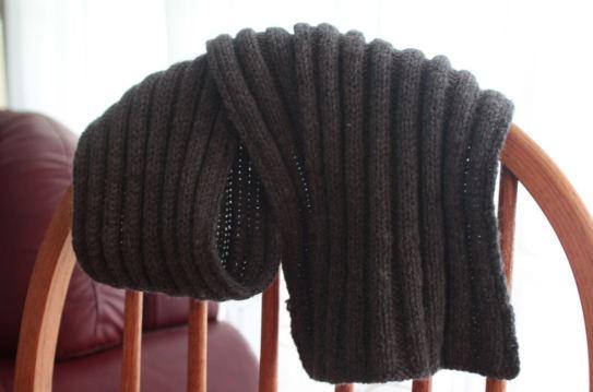 dad's scarf - fall 2012