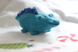 blue alligator