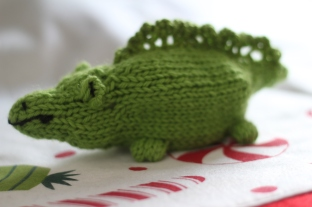 green alligator